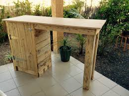 Small Bar Table Pallet Bar Table To Make The Most Of My Small Apartment U2022 1001