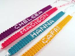 bracelet friendship name images Custom personalized name friendship bracelet skinny pll jpg