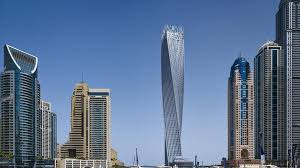 cayan tower floor plan dubai s twisting cayan tower named among world s best new