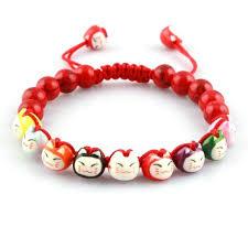 shamballa bracelet handmade images Cute lucky fortune cat ceramic beads shamballa bracelet rope jpg