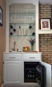Mirrored Bar Cabinet Mini Refrigerator Cabinet Bar Foter