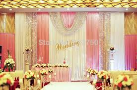 wedding backdrop on stage wedding stage decorations center stage dramatic show