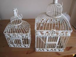 birdcages for wedding bird cages set of 2 19 15