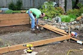 build a raised bed frame with hardware cloth raised bed garden box