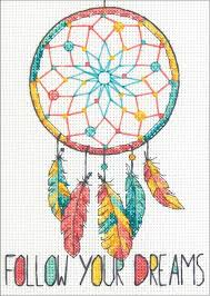 dimensions dreamcatcher cross stitch kit 70 65158 123stitch