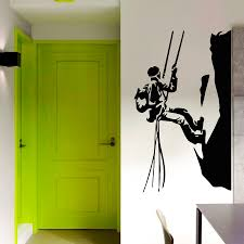 creativity activities promotion shop for promotional creativity extreme sport athlete climbing hills wall sticker home livingroom special active decorative vinyl cool wall murals decal w 497