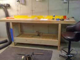 workbench build with ikea tops general woodworking talk wood
