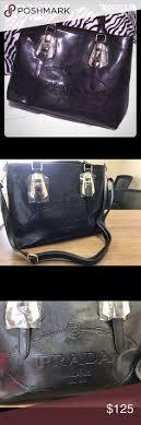 prada pvc handbags bags for ebay vintage 70 s chanel quilted shoulder bag lambskin