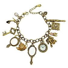 vintage gold bracelet charms images Gold plated q q fashion vintage fairytale charms jpg