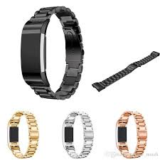 stainless steel bracelet strap images Luxury replacement stainless steel watchband for fitbit charge 2 jpg