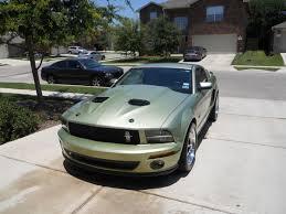 2005 Black Mustang 2005 2009 Mustang Gt Hoods