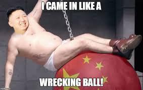 Wrecking Ball Meme - wrecking ball imgflip