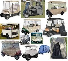 classic accessories windshield golf cart rain enclosure cover