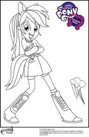 pony coloring pages kids printable free coloring