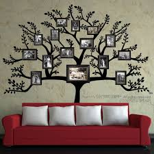 astounding family tree wall decal free shipping large branch