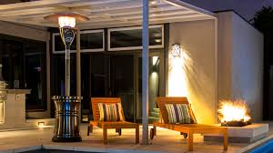 overhead patio heater the halo patio heater by outdoor order outdoor order