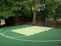 Backyard Basketball Court Flex Court Basketball Courts Neave Group
