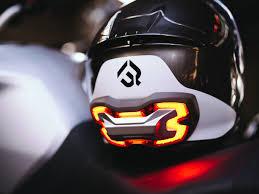 motorcycle shoes with lights brake free smart helmet brake light imboldn