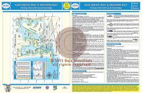 San Diego Bay Map by San Diego Bay Mission Bay Baja Directions