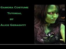 Gamora Costume Gamora Costume Tutorial Youtube