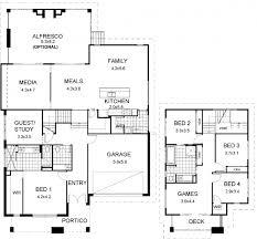 modern split level house plans floor plan friday split level modern