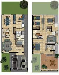 Modern Home Floor Plans Designs 199 Best Narrow Lot Plans Images On Pinterest Architecture