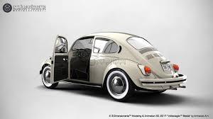 volkswagen beetle 2017 white artstation volkswagen beetle 3d on the road 3 dimensionarte