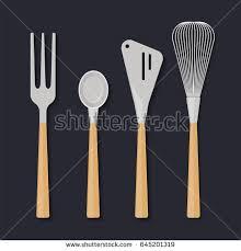 Kitchen Utensils Design by Kitchen Utensils Cooking Soup Ladle Cutlery Stock Vector 150160526
