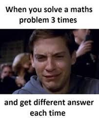 Maths Memes - living on the edge homework math and math memes