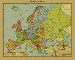 Alternate History Maps Europe In 1948 By Jjohnson1701 Maps Pinterest