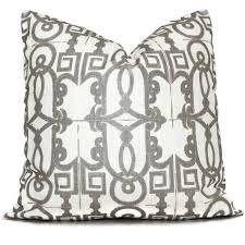 decorative pillow cover seville champagne trellis pillow