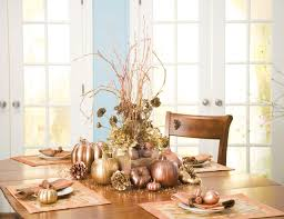 dining room thanksgiving table decoration of outdoor dining