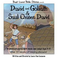 david and goliath u0026 saul chases david laura van leeuwen