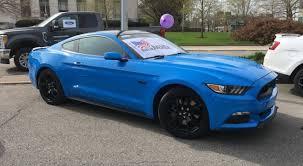 Mustang Gt Black Grabber Blue 2017 Mustang Gt Spotted 2015 Mustang Forum News