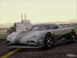 custom koenigsegg agera r racer for gta san andreas