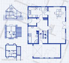 plan house blueprint with vertikal and horisontal mesmerizing
