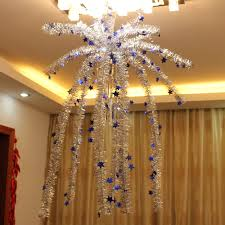 tree hanging from ceiling lights decoration