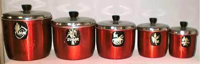 red kitchen canisters red kitchen canisters kitchen design