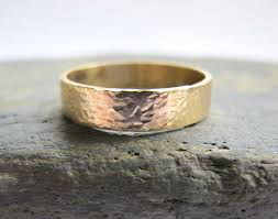 hammered gold wedding band wedding rings snazzy mens gold wedding bands inspirations