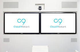 conference room av by cloud9 smart smarter spaces