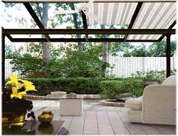 Vinyl Patio Roof Glass Vinyl Plastic Or Fiberglass Roof For Dry Patio Garden