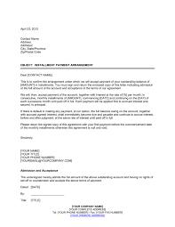 installment payment agreement template u0026 sample form biztree com