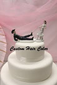 wedding cake toppers theme personalized wedding cake topper cowboy and