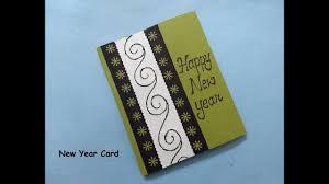 new year photo card beautiful handmade new year greeting card for boyfriend