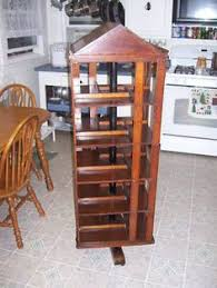 Danner Revolving Bookcase What Is This Revolving Bookcase Worth Woodworking Diy
