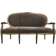 Wooden Sofa Chair Png Viyet Designer Furniture Seating Antique 19th Century French