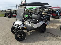 Led Vehicle Light Bar by Yamaha Efi Gas 6 Inch Lift L E D Light Bar Ennis Golf Carts