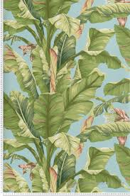 papier peint york chambre papier peint bananier lagon collection toiles de york by