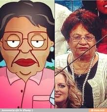 Family Guy Cleaning Lady Meme - latino kid problems on twitter consuela from family guy is based