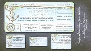 wedding invitations with rsvp boarding pass wedding invitations with rsvp simplo co